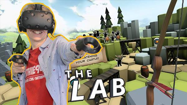 The Lab VR Game